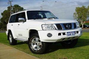 2012 Nissan Patrol Y61 GU 8 ST White 4 Speed Automatic Wagon Wangara Wanneroo Area Preview