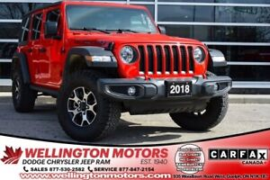 2018 Jeep Wrangler Unlimited Rubicon / Cold Weather Group / Warr