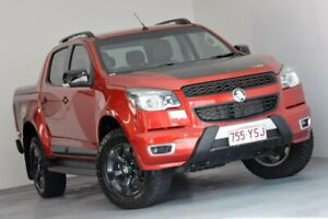 2015 Holden Colorado RG MY16 Z71 Crew Cab Red 6 Speed Sports Automatic Utility Albion Brisbane North East Preview