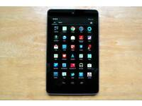 Google nexus 7 32gb wi-fi with box in very good condition