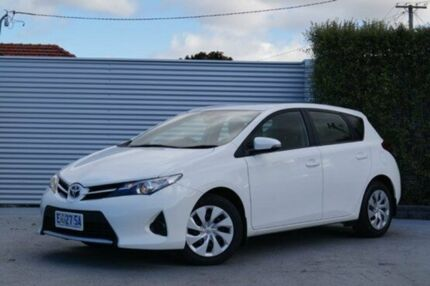 2013 Toyota Corolla ZRE182R Ascent S-CVT Glacier White 7 Speed Constant Variable Hatchback South Launceston Launceston Area Preview