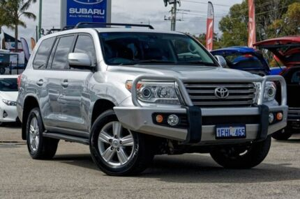 2013 Toyota Landcruiser VDJ200R MY12 VX Silver 6 Speed Sports Automatic Wagon Greenfields Mandurah Area Preview