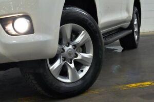 2010 Toyota Landcruiser Prado KDJ150R GXL White 5 Speed Sports Automatic Wagon