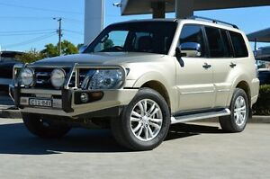 2012 Mitsubishi Pajero NW MY12 Exceed LWB (4x4) Gold 5 Speed Auto Sports Mode Wagon South Maitland Maitland Area Preview