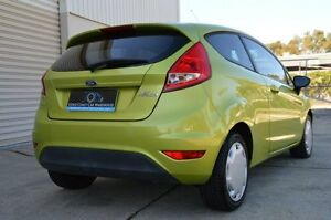 2009 Ford Fiesta WS CL Green 5 Speed Manual Hatchback Ashmore Gold Coast City Preview