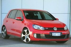 2010 Volkswagen Golf VI MY11 GTi Red 6 Speed Manual Hatchback Wangara Wanneroo Area Preview