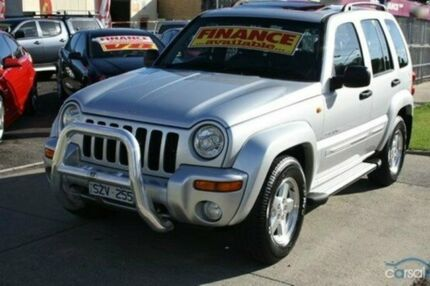2004 Jeep Cherokee KJ MY2004 Limited Silver 4 Speed Automatic Wagon Altona North Hobsons Bay Area Preview
