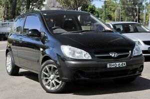 2008 Hyundai Getz TB MY09 S Black 5 Speed Manual Hatchback North Gosford Gosford Area Preview