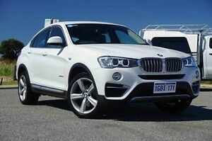 2014 BMW X4 F26 xDrive30d Steptronic White 8 Speed Automatic Wagon Wangara Wanneroo Area Preview