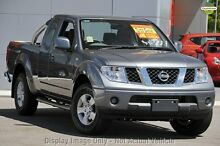 2010 Nissan Navara D40 ST-X King Cab Grey 5 Speed Automatic Utility Osborne Park Stirling Area Preview