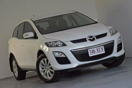 2009 Mazda CX-7 ER10L2 Classic Activematic White 5 Speed Sports Automatic Wagon Kedron Brisbane North East Preview