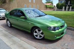 2004 Ford Falcon BA XR6 Green 4 Speed Sports Automatic Sedan Stepney Norwood Area Preview