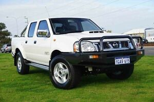 2015 Nissan Navara D22 S5 ST-R White 5 Speed Manual Utility Wangara Wanneroo Area Preview