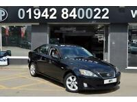 2006 56 LEXUS IS 2.2 220D 4D 175 BHP DIESEL 6SP SALOON,124-000M SH, 10 STAMPS