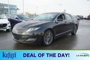 2014 Lincoln MKZ AWD 3.7L V6 Accident Free,  Navigation (GPS),