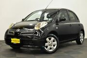 2007 Nissan Micra K12 Black 4 Speed Automatic Hatchback Edgewater Joondalup Area Preview