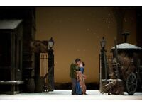 2 x tickets to LA BOHEME Opera at London Royal Opera House - FRI 22ND JUNE - 7.30pm - £60 for pair