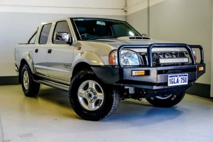 2015 Nissan Navara D22 S5 ST-R Silver 5 Speed Manual Utility Wangara Wanneroo Area Preview