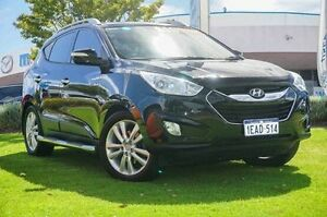 2010 Hyundai ix35 LM MY11 Highlander AWD Black 6 Speed Sports Automatic Wagon Wangara Wanneroo Area Preview
