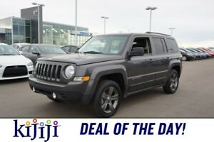 2015 Jeep Patriot 4X4 HIGH ALTITUDE Accident Free,  Leather,  He