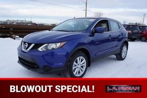 2018 Nissan Qashqai S CVT HEATED FRONT SEATS, BLUETOOTH, BACK UP