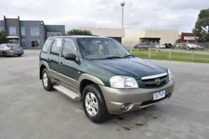 2003 Mazda Tribute Luxury Green 4 Speed Automatic 4x4 Wagon Hoppers Crossing Wyndham Area Preview