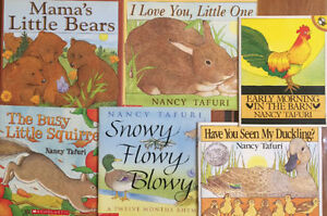 Childrens picture books by NANCY TAFURI $3 each or all 6 for $15