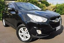 2012 Hyundai ix35 LM MY11 Elite AWD Black 6 Speed Sports Automatic Wagon Glenelg East Holdfast Bay Preview