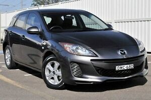 2013 Mazda 3 BL10F2 MY13 Neo Activematic Grey 5 Speed Sports Automatic Hatchback Gosford Gosford Area Preview