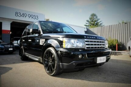 2006 Land Rover Range Rover L320 MY07 SPORTS SUPERCHARGED Black 6 Speed Automatic Wagon Pooraka Salisbury Area Preview