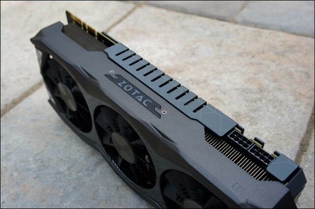 Graphic card Zotac GTX 980 ti 6 GB Amped Edition