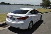 2013 Hyundai Elantra MD2 Elite White 6 Speed Automatic Sedan Five Dock Canada Bay Area Preview