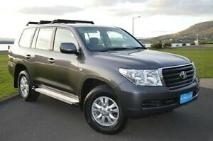 2010 Toyota Landcruiser VDJ200R MY10 GXL Grey 6 Speed Sports Automatic Wagon Derwent Park Glenorchy Area Preview