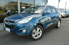 2012 Hyundai ix35 LM2 Elite Blue 6 Speed Auto Seq Sportshift Wagon Derwent Park Glenorchy Area Preview