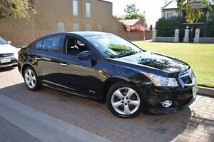 2011 Holden Cruze JH Series II MY11 SRi-V Black 6 Speed Sports Automatic Sedan Stepney Norwood Area Preview