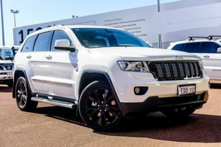 2013 Jeep Grand Cherokee WK MY2013 Laredo Wh/black 5 Speed Sports Automatic Wagon Balcatta Stirling Area Preview