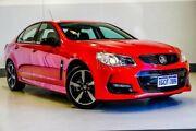 2016 Holden Commodore VF II MY16 SV6 Black Red/Black 6 Speed Sports Automatic Sedan Wangara Wanneroo Area Preview