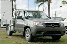 2010 Mazda BT-50 DX Grey 5 Speed Manual Cab Chassis Hillcrest Logan Area Preview