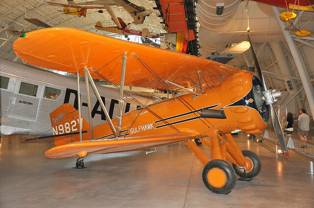 Giant 1/4 Scale Curtiss 1A Gulfhawk Biplane Plans and Templates 94ws