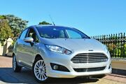 2018 Ford Fiesta WZ Sport PwrShift Silver 6 Speed Sports Automatic Dual Clutch Hatchback Medindie Walkerville Area Preview