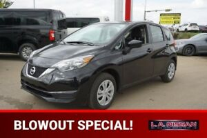 2018 Nissan Versa Note S 1.6 BLUETOOTH, 5-SPEED MANUAL TRANSMISS