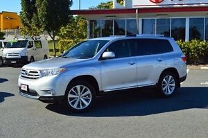 2012 Toyota Kluger GSU45R MY12 Grande AWD White 5 Speed Sports Automatic Wagon Highland Park Gold Coast City Preview