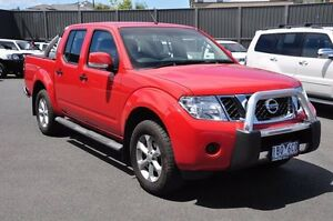 2014 Nissan Navara D40 S7 ST Red 6 Speed Manual Utility Knoxfield Knox Area Preview