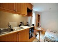*West Kensington - Cosy Ground Floor Studio Flat with open kitchen and ensuite shower