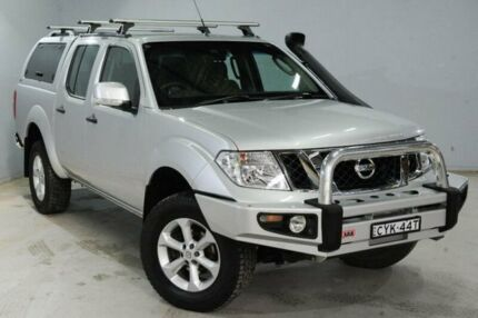 2012 Nissan Navara D40 MY12 ST (4x4) Silver 6 Speed Manual Dual Cab Pick-up Cessnock Cessnock Area Preview