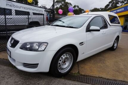 2012 Holden Ute VE II MY12 Omega Heron White 6 Speed Sports Automatic Utility