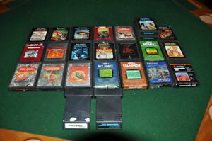 MASSIVE ATARI 2600 COLLECTION OVER 200 GAMES & MANUALS