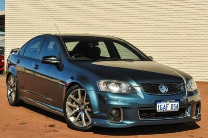 2012 Holden Commodore VE II MY12 SS V Blue 6 Speed Manual Sedan Bayswater Bayswater Area Preview