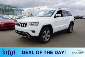 2014 Jeep Grand Cherokee 4WD LIMITED Navigation (GPS),  Leather,
