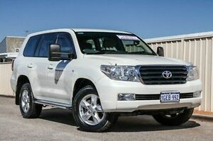 2012 Toyota Landcruiser VDJ200R MY12 Altitude White 6 Speed Sports Automatic Wagon Wangara Wanneroo Area Preview